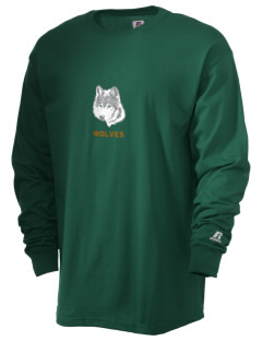 Walla Walla University Wolves  Russell Men's Long Sleeve T-Shirt