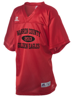 Warren County Community College Golden Eagles Russell Kid's Replica Football Jersey