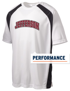 Jefferson Community College  Cannoneers Men's Dry Zone Colorblock T-Shirt