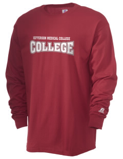 Jefferson Medical College College  Russell Men's Long Sleeve T-Shirt
