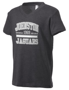Johnston Community College College Kid's V-Neck Jersey T-Shirt