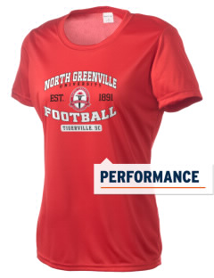 North Greenville University Crusaders Women's Competitor Performance T-Shirt