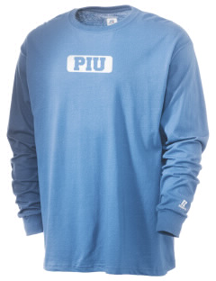 Piedmont International University BRUINS  Russell Men's Long Sleeve T-Shirt