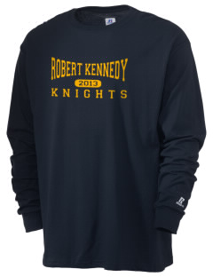 Robert Kennedy Elementary School Knights  Russell Men's Long Sleeve T-Shirt