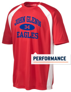 John Glenn High School Eagles Men's Dry Zone Colorblock T-Shirt