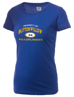 Buttonwillow Elementary School Roadrunners  Russell Women's Campus T-Shirt