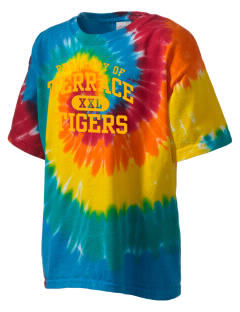 Terrace Elementary School Tigers Kid's Tie-Dye T-Shirt