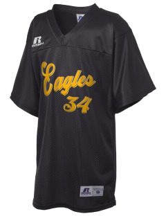 Vista High School Eagles Russell Kid's Replica Football Jersey
