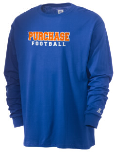 State University of New York at Purchase Panthers  Russell Men's Long Sleeve T-Shirt