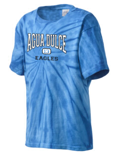 Agua Dulce Elementary School Eagles Kid's Tie-Dye T-Shirt