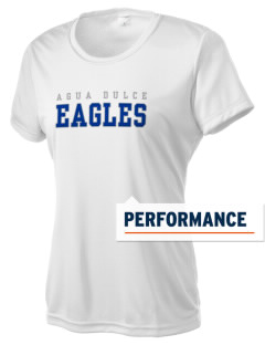 Agua Dulce Elementary School Eagles Women's Competitor Performance T-Shirt