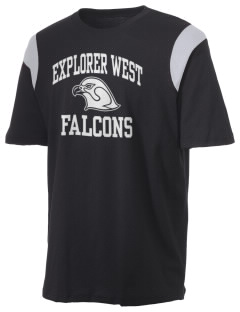 Explorer West Middle School Falcons Holloway Men's Rush T-Shirt