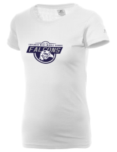 Explorer West Middle School Falcons  Russell Women's Campus T-Shirt