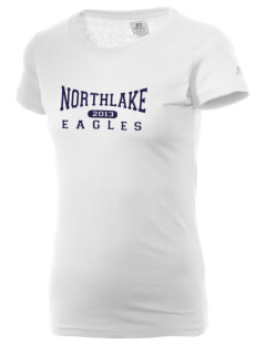 Northlake Elementary School Eagles  Russell Women's Campus T-Shirt