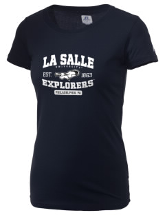 La Salle University Explorers  Russell Women's Campus T-Shirt