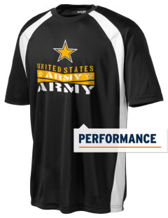 Hunter Army Airfield Men's Dry Zone Colorblock T-Shirt