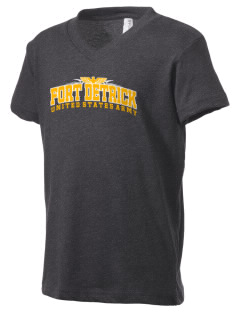 Fort Detrick Kid's V-Neck Jersey T-Shirt
