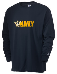 Bangor Naval Submarine Base  Russell Men's Long Sleeve T-Shirt