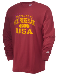 Parris Island Recruit Depot  Russell Men's Long Sleeve T-Shirt