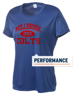 Millbrook Elementary School Colts Women's Competitor Performance T-Shirt
