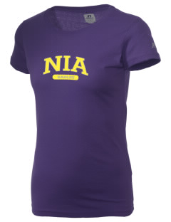 NIA Community Public Charter School Eagles  Russell Women's Campus T-Shirt