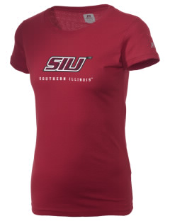 Southern Illinois University Salukis  Russell Women's Campus T-Shirt