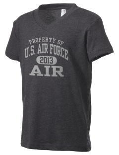 U.S. Air Force Kid's V-Neck Jersey T-Shirt