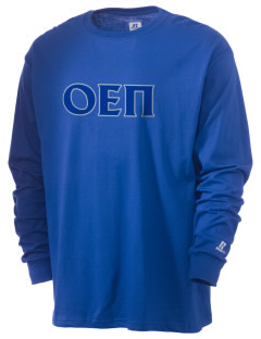 Omicron Epsilon Pi  Russell Men's Long Sleeve T-Shirt
