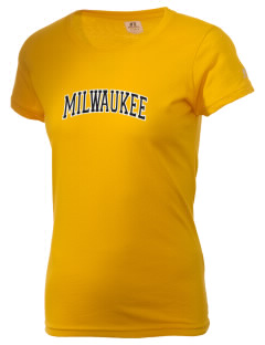 University of Wisconsin-Milwaukee Panthers  Russell Women's Campus T-Shirt