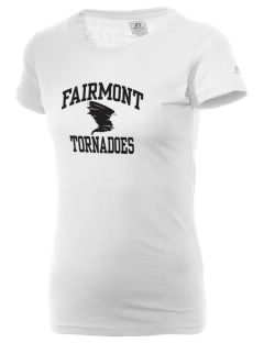 Fairmont Middle School Tornadoes  Russell Women's Campus T-Shirt