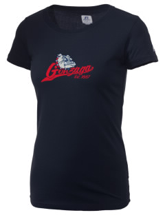 Gonzaga University Bulldogs  Russell Women's Campus T-Shirt