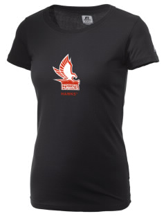 University of Hartford Hawks  Russell Women's Campus T-Shirt