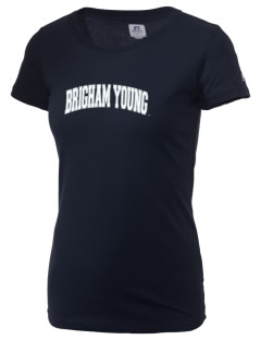 Brigham Young University Cougars  Russell Women's Campus T-Shirt