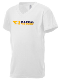 Aledo Police Department Kid's V-Neck Jersey T-Shirt