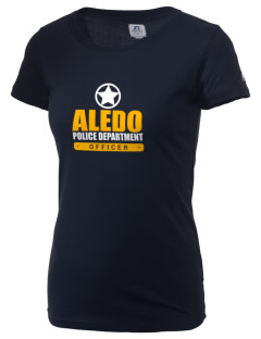 Aledo Police Department  Russell Women's Campus T-Shirt