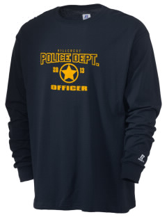 Hillcrest Police Department  Russell Men's Long Sleeve T-Shirt