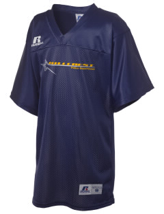 Hillcrest Police Department Russell Kid's Replica Football Jersey
