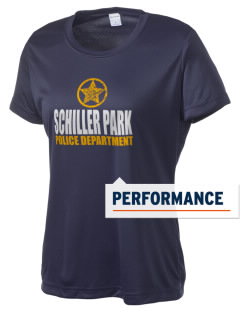 Schiller Park Police Department Women's Competitor Performance T-Shirt