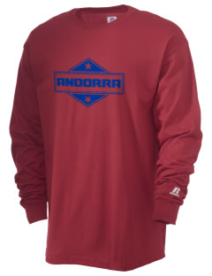 Andorra  Russell Men's Long Sleeve T-Shirt