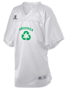 Andorra Russell Kid's Replica Football Jersey