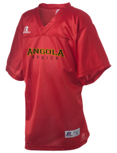 Angola Russell Kid's Replica Football Jersey