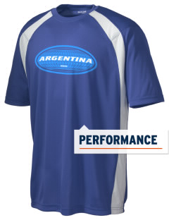 Argentina Men's Dry Zone Colorblock T-Shirt