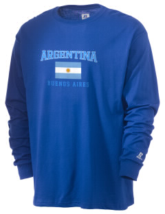 Argentina  Russell Men's Long Sleeve T-Shirt