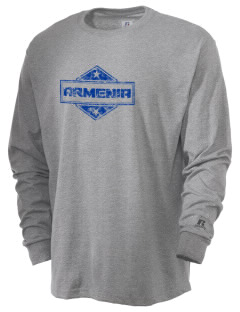 Armenia  Russell Men's Long Sleeve T-Shirt