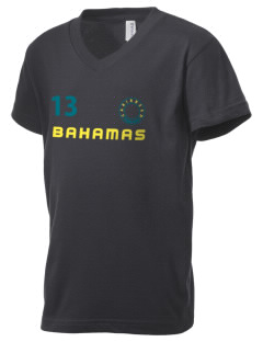 Bahamas Kid's V-Neck Jersey T-Shirt