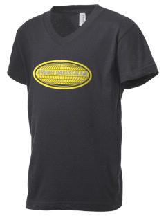 Brunei Darussalam Kid's V-Neck Jersey T-Shirt