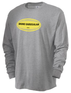 Brunei Darussalam  Russell Men's Long Sleeve T-Shirt