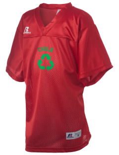 Chile Russell Kid's Replica Football Jersey