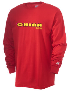 China  Russell Men's Long Sleeve T-Shirt