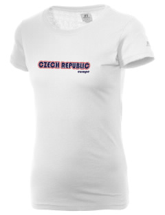 Czech Republic  Russell Women's Campus T-Shirt